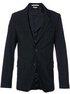 пиджак в тонкую полоску Comme Des Garçons Homme Plus