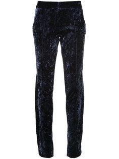 velvet trousers  Strateas Carlucci