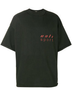 футболка с принтом-логотипом Yeezy