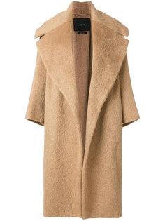пальто с широкими лацканами Max Mara