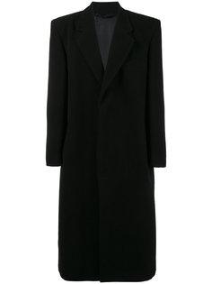 длинное пальто Raf Simons