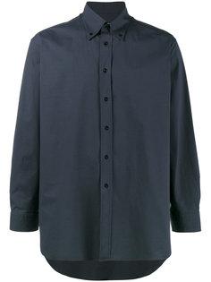 рубашка свободного кроя Navy  Raf Simons