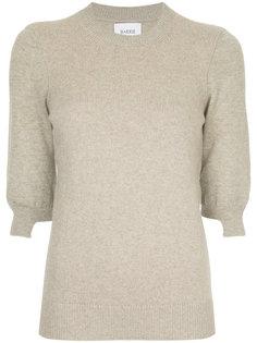 свитер в рубчик с укороченными рукавами  Barrie