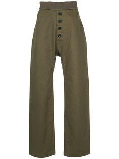 брюки с пуговичной застежкой Loewe