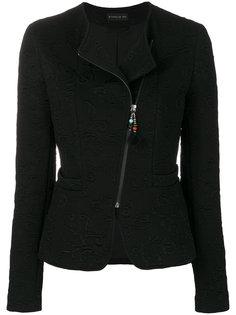пиджак с асимметричной молнией  Etro