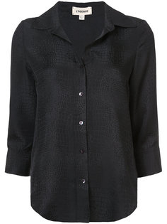 scale textured shirt Lagence
