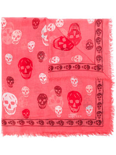 платок Skull Alexander McQueen