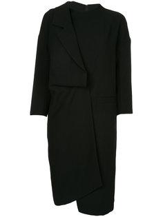 платье с лацканом Enföld