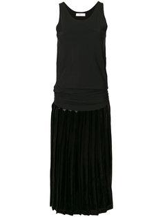 плиссированное платье без застежки Toga