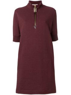 платье на молнии спереди  Marc Jacobs