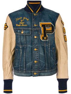 джинсовая куртка с панельным дизайном Polo Ralph Lauren