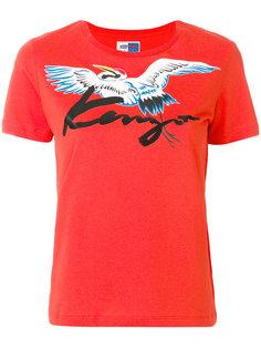 футболка с принтом птицы Kenzo