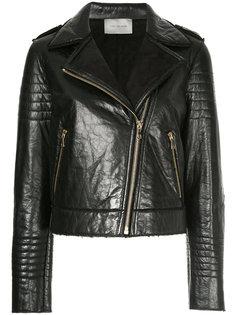 байкерская куртка  Yves Salomon