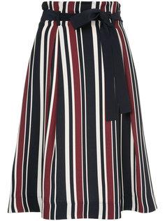 юбка в полоску с поясом  Loveless