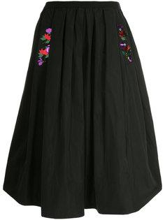 пышная декорированная юбка с пайетками Muveil
