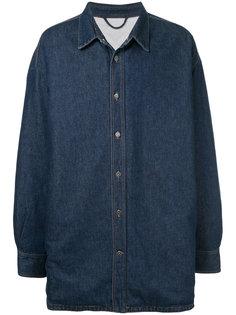 стеганая джинсовая рубашка Raf Simons
