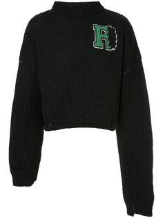 свитер мешковатого кроя Raf Simons