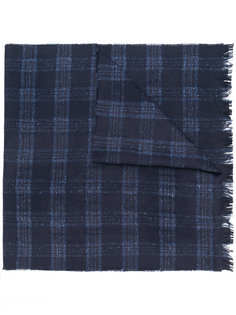 полосатый тканый шарф Hackett