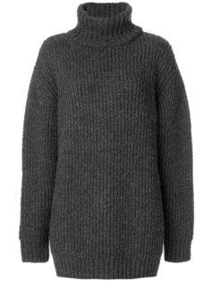 свободный свитер с отворотом  Marc Jacobs