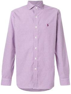 приталенная рубашка в клетку Polo Ralph Lauren