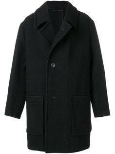 классическое пальто на пуговицах Lemaire