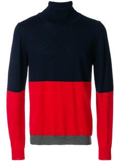 свитер дизайна колор-блок Wood Wood