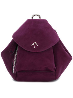 Fernweh mini leather backpack  Manu Atelier