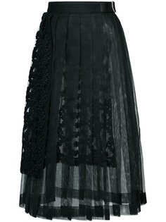 pleated lace skirt Comme Des Garçons Noir Kei Ninomiya