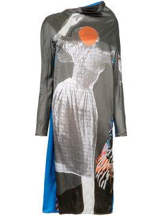 платье с принтом Sally Smart Marni