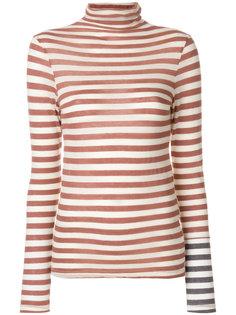 свитер в полоску  Semicouture