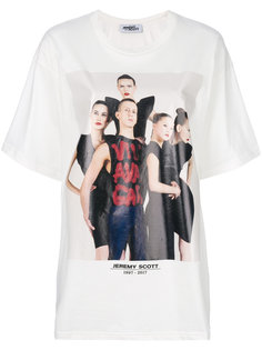 футболка с рисунком Jeremy Scott