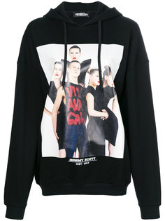 photo print hoodie  Jeremy Scott