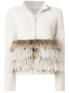 свитер на молнии Fabiana Filippi