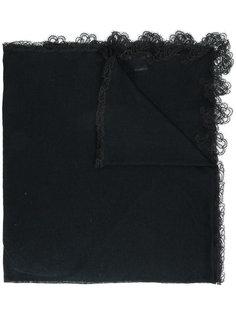 шарф с кружевной оторочкой Ermanno Scervino