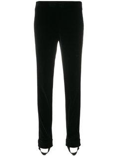фактурные брюки узкого кроя Ermanno Scervino