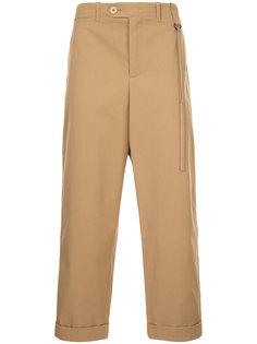 укороченные брюки прямого кроя Craig Green