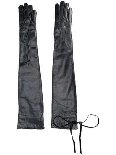длинные перчатки Ann Demeulemeester