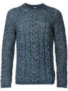 свитер вязки косичкой Woolrich