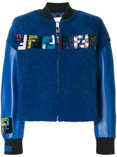 куртка-бомбер с логотипом  Fendi