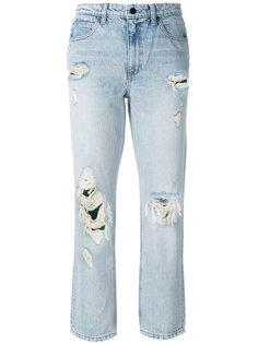 прямые джинсы Destroyed Cult Alexander Wang