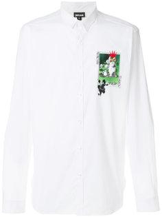 классическая рубашка с графическим принтом Just Cavalli