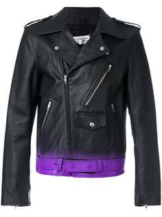 байкерская куртка с градиентным эффектом Maison Margiela