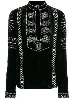 блузка с вышивкой  Dodo Bar Or