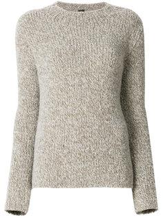 трикотажный свитер в рубчик Eleventy
