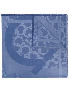 шарф с принтом Gancio Salvatore Ferragamo