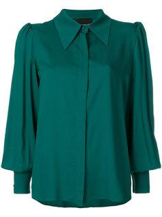 рубашка с пышными рукавами Erika Cavallini