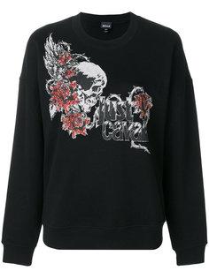 свитер с логотипом  Just Cavalli