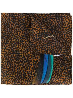 нагрудный платок с принтом перьев Paul Smith