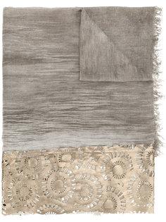 шарф с лазерными прорезями Cash Cutuli Cult