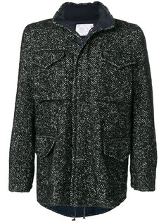 пальто с карманами Sacai